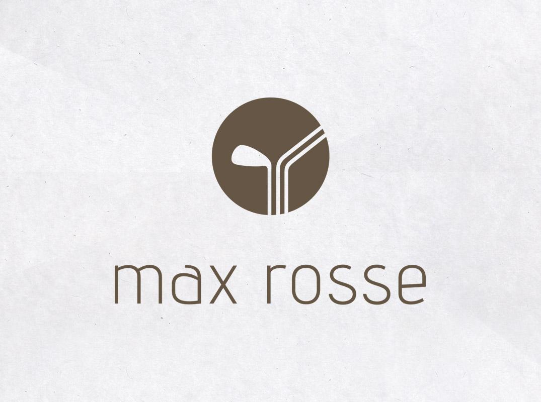 Logo MaxRosse sur papier